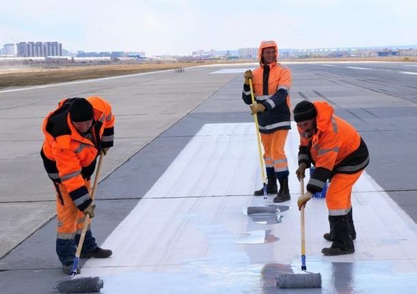 Стартовала плановая реконструкция взлетно-посадочной полосы аэропорта «Якутск»