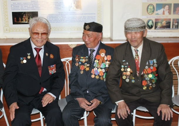 В Якутске поздравили фронтовиков